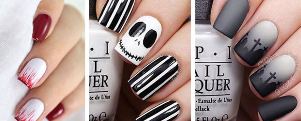 Easy-Simple-Halloween-Nail-Art-For-Beginners-2020-F