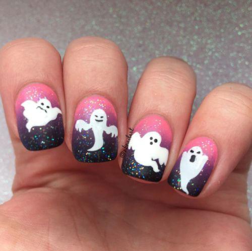 Halloween-Ghost-Nail-Art-Ideas-2020-Ghost-Nails-10