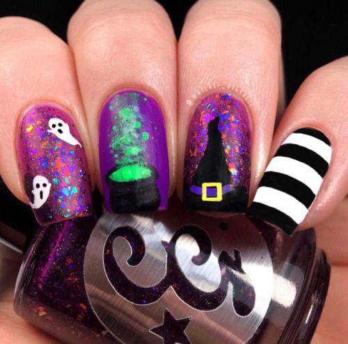 Halloween-Ghost-Nail-Art-Ideas-2020-Ghost-Nails-5