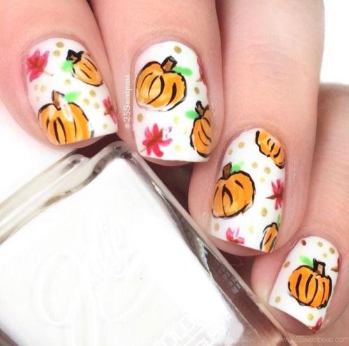 Halloween-Pumpkin-Face-Nail-Art-Designs-2020-Pumpkin-Nails-10