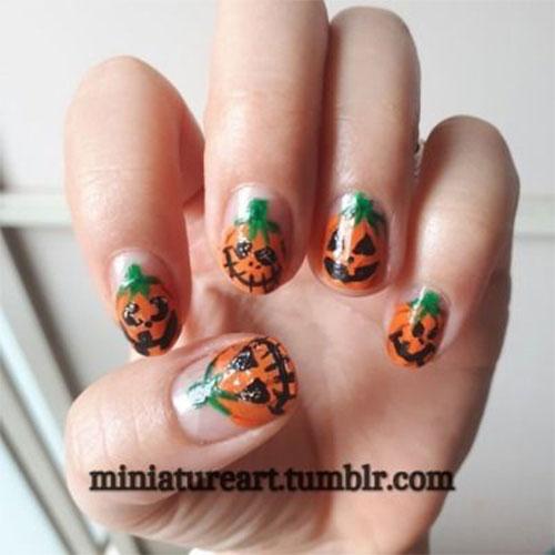 Halloween-Pumpkin-Face-Nail-Art-Designs-2020-Pumpkin-Nails-11