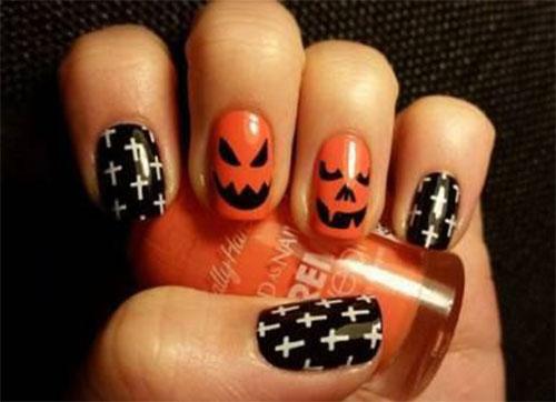 Halloween-Pumpkin-Face-Nail-Art-Designs-2020-Pumpkin-Nails-12
