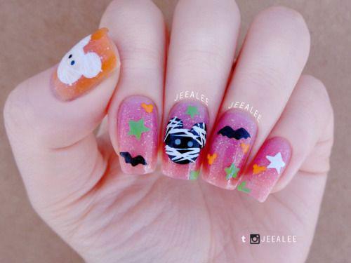 Halloween-Pumpkin-Face-Nail-Art-Designs-2020-Pumpkin-Nails-13