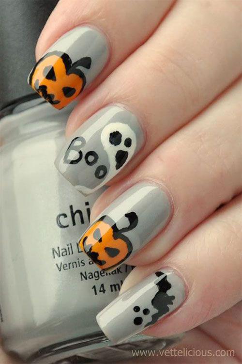 Halloween-Pumpkin-Face-Nail-Art-Designs-2020-Pumpkin-Nails-17
