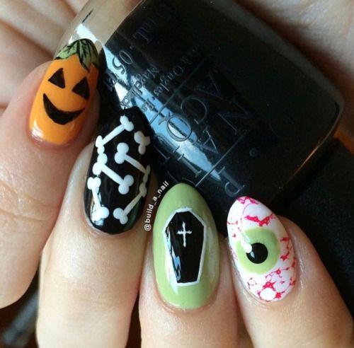 Halloween-Pumpkin-Face-Nail-Art-Designs-2020-Pumpkin-Nails-18