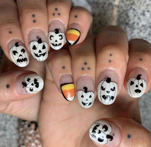 Halloween-Pumpkin-Face-Nail-Art-Designs-2020-Pumpkin-Nails-5