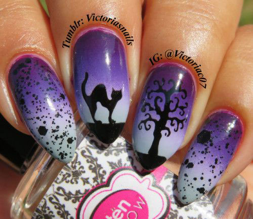 Happy-Halloween-Nail-Art-Designs-2020-October-Nails-2020-3
