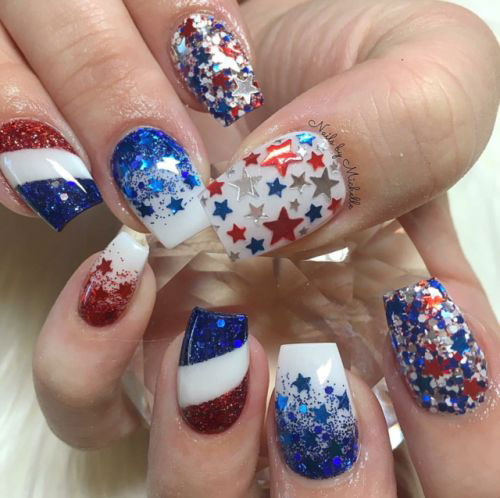 Simple-Easy-4th-of-July-Nails-Art-Designs-2020-18
