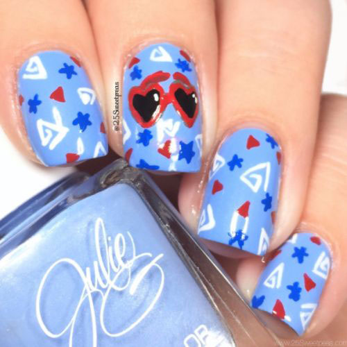 Simple-Easy-4th-of-July-Nails-Art-Designs-2020-8