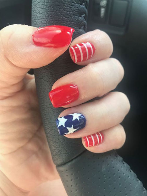 Simple-Easy-4th-of-July-Nails-Art-Designs-2020-9