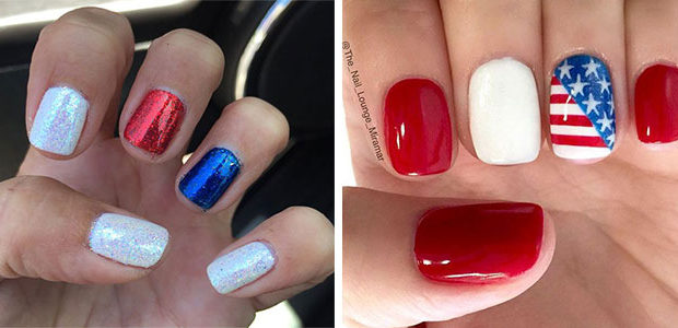 Simple & Easy 4th of July Nails Art Designs 2020