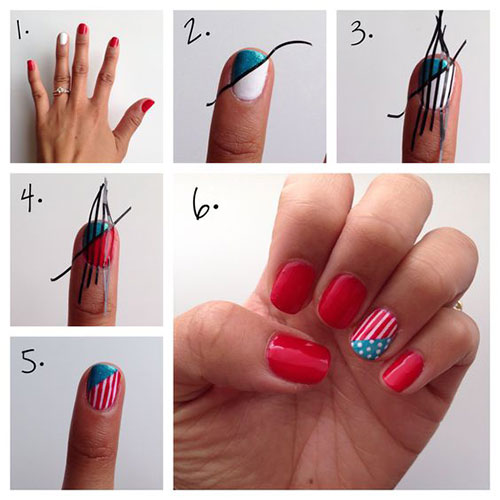 Step-By-Step-4th-of-July-Nails-Tutorials-For-Beginners-2020-7