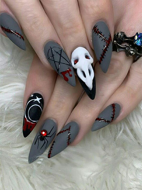 15-Scary-3d-Halloween-Nail-Art-Ideas-2020-1