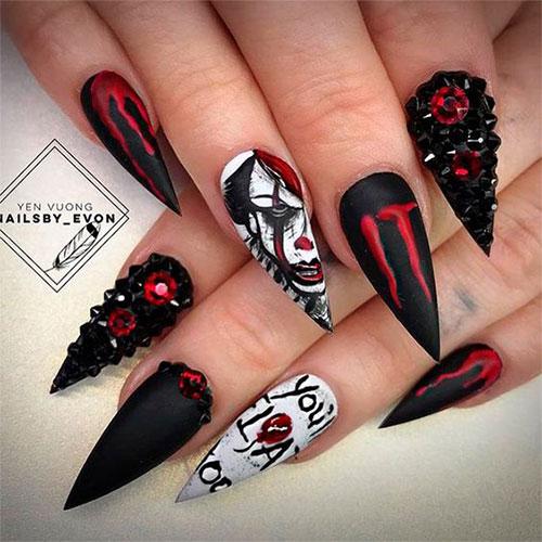 15-Scary-3d-Halloween-Nail-Art-Ideas-2020-5