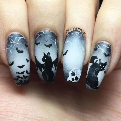 20-Halloween-Spooky-Bat-Nail-Art-Ideas-2020-14