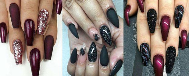 Black-Halloween-Coffin-Nail-Art-Designs-2020-F