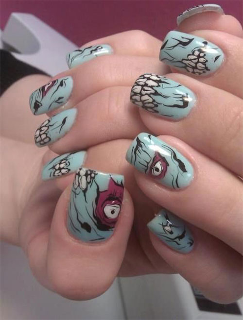 Creepy-Scary-Halloween-Nail-Art-2020-17