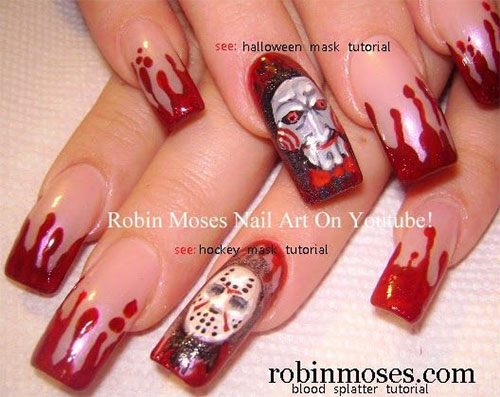 Creepy-Scary-Halloween-Nail-Art-2020-2