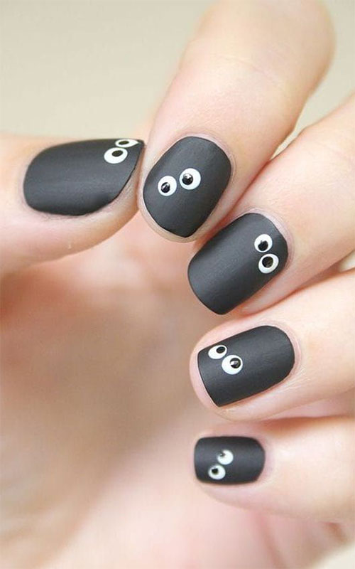 Cute-Easy-Halloween-Nail-Art-For-Kids-2020-1