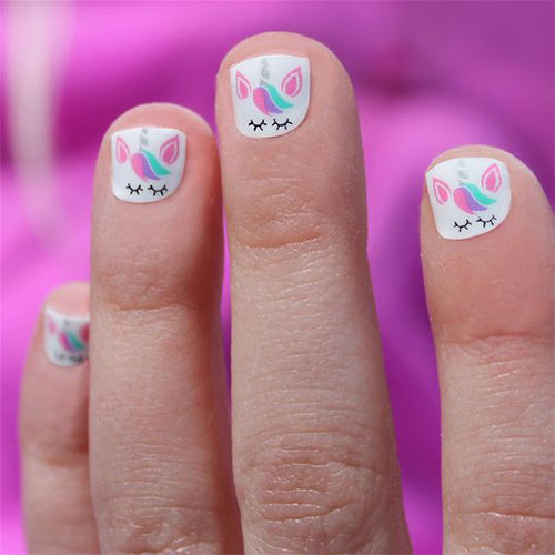 Cute-Easy-Halloween-Nail-Art-For-Kids-2020-11