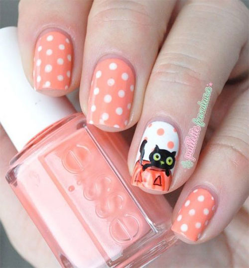 Cute-Easy-Halloween-Nail-Art-For-Kids-2020-6