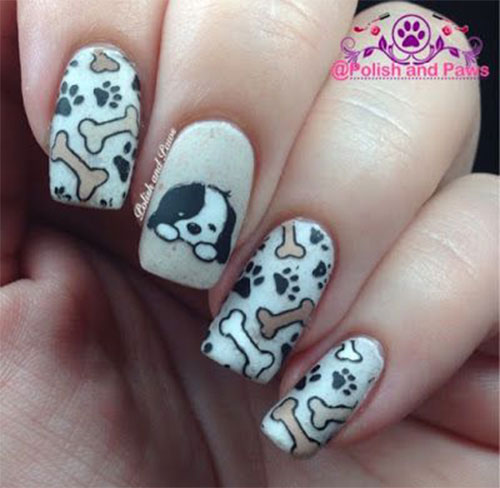 Cute-Easy-Halloween-Nail-Art-For-Kids-2020-9