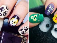 Cute-Easy-Halloween-Nail-Art-For-Kids-2020-F