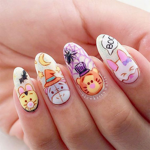 Disney-Halloween-Nail-Art-Designs-2020-11