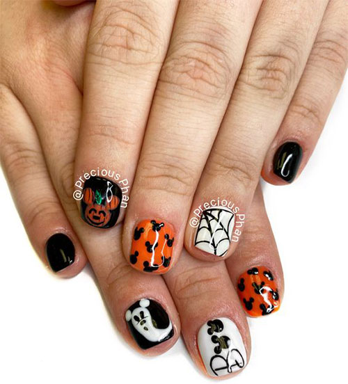Disney-Halloween-Nail-Art-Designs-2020-15