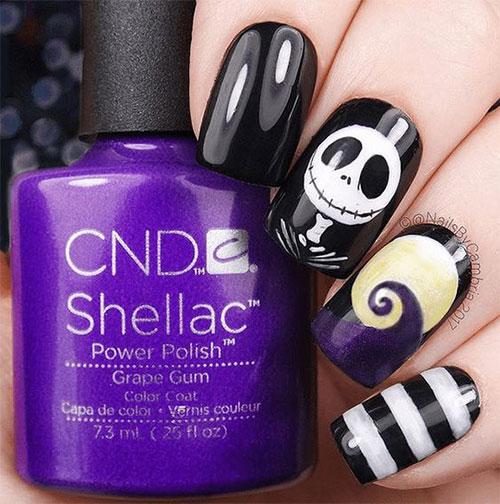 Disney-Halloween-Nail-Art-Designs-2020-6