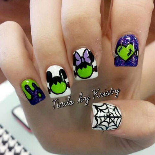 Disney-Halloween-Nail-Art-Designs-2020-7