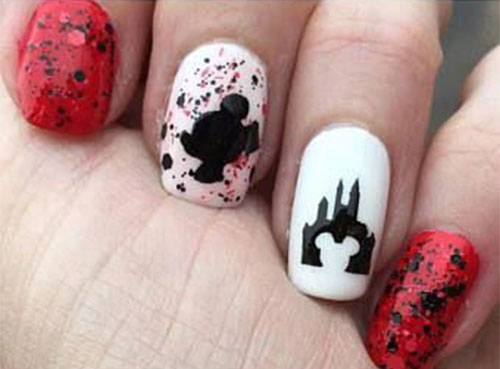 Disney-Halloween-Nail-Art-Designs-2020-8