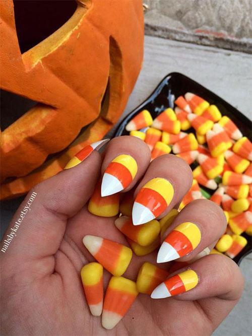 Halloween-Candy-Corn-Nail-Art-Designs-2020-9