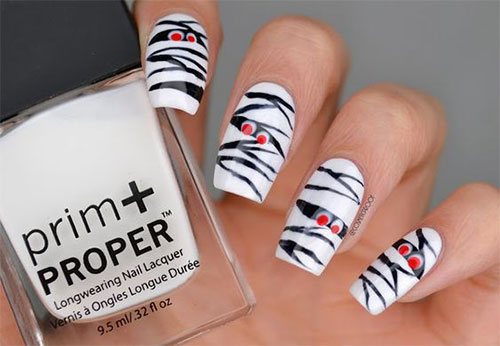 Halloween-Mummy-Nails-Art-Designs-2020-15