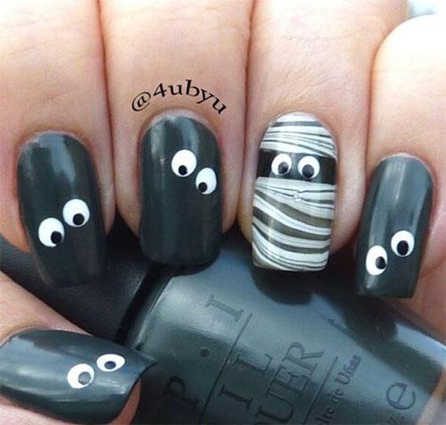 Halloween-Mummy-Nails-Art-Designs-2020-16