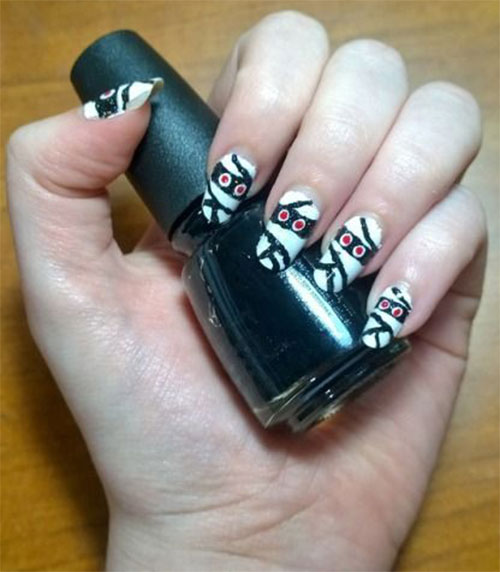 Halloween-Mummy-Nails-Art-Designs-2020-20