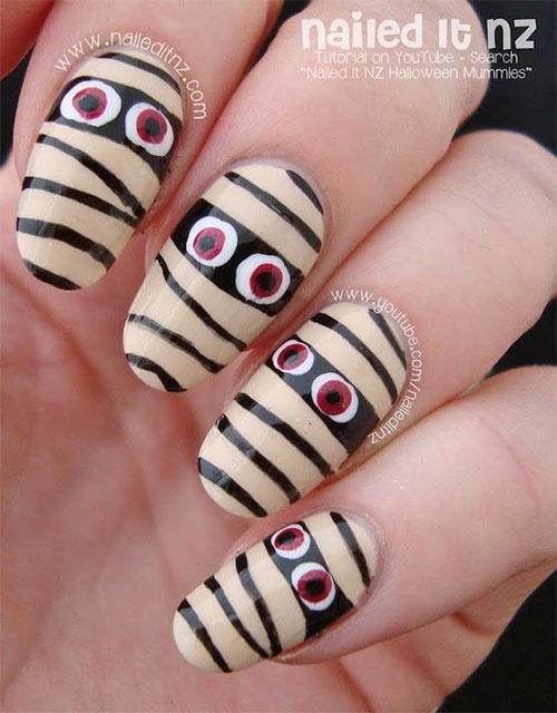 Halloween-Mummy-Nails-Art-Designs-2020-3