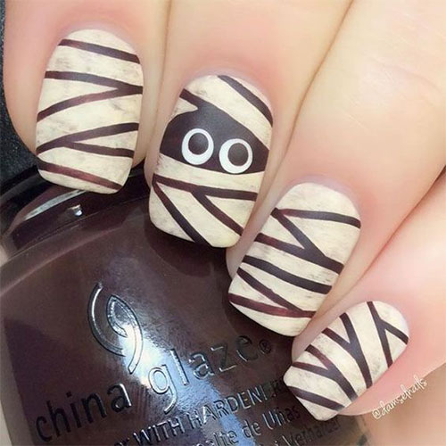 Halloween-Mummy-Nails-Art-Designs-2020-4