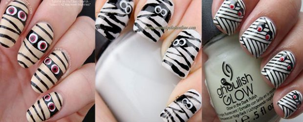 Halloween-Mummy-Nails-Art-Designs-2020-F