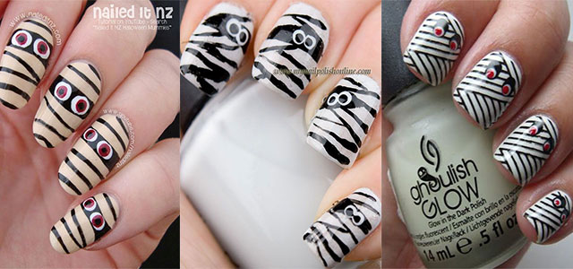 Halloween-Mummy-Nails-Art-Designs-2020-F