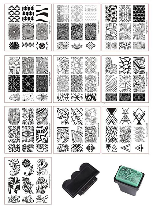 Halloween-Nail-Art-Stamping-Kits-2020-4