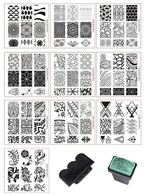 Halloween-Nail-Art-Stamping-Kits-2020-4