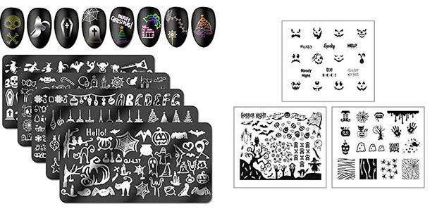 Halloween Nail Art Stamping Kits 2020