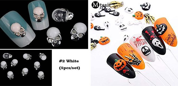 Halloween Nail Charms For Girls & Women 2020