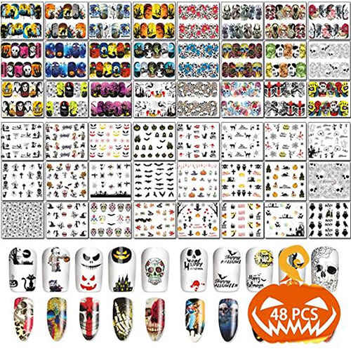 Halloween-Nails-Art-Stickers-Decals-2020-10