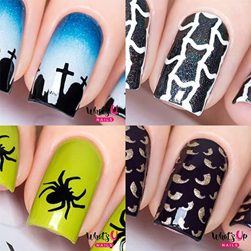 Halloween-Nails-Art-Stickers-Decals-2020-4