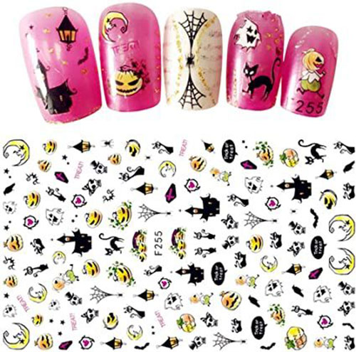 Halloween-Nails-Art-Stickers-Decals-2020-9