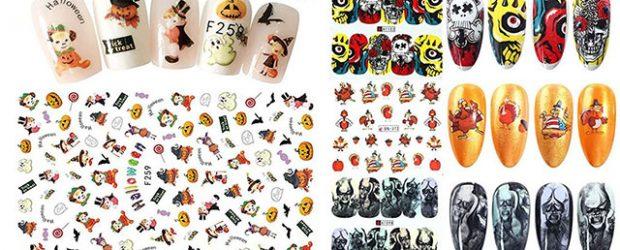 Halloween-Nails-Art-Stickers-Decals-2020-F