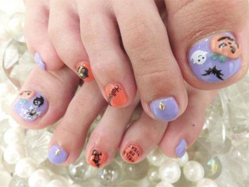 Halloween-Toe-Nail-Art-Designs-2020-3