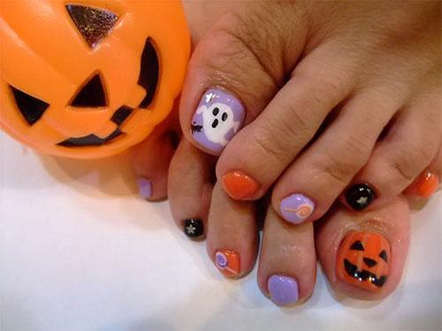 Halloween-Toe-Nail-Art-Designs-2020-4